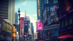 Ads. Times Square in ny Royalty Free Stock Photos