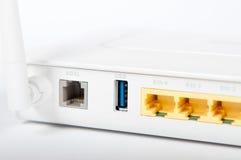 ADSL路由器 库存照片