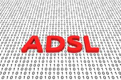 ADSL Imagen de archivo