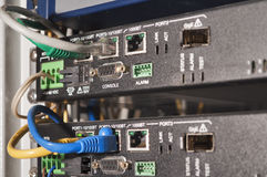 ADSL equipment Royalty Free Stock Image