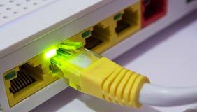 ADSL-Kabel Lizenzfreies Stockbild