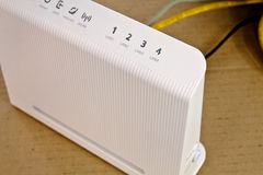 ADSL-Modem Lizenzfreies Stockbild