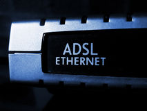Adsl modem Royalty Free Stock Image