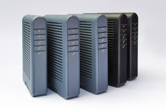 ADSL modems Stock Photography
