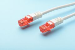 ADSL nätverkskabel Royaltyfri Foto