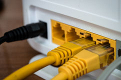 ADSL-Router Stockbild