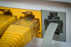 ADSL router Stock Images
