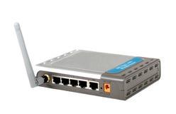 ADSL Wireless Router stock photos