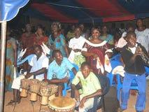 Aduana africana del akan en país Fotos de archivo