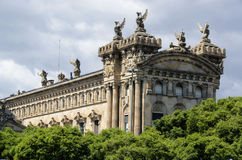 Aduana Building in Barcelona Royalty Free Stock Photography