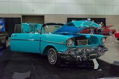 Aduana clásica del coche de Chevrolet Fotos de archivo libres de regalías
