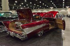 Aduana clásica del coche de Chevrolet Imágenes de archivo libres de regalías