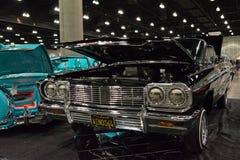 Aduana clásica del coche de Chevrolet Impala Foto de archivo libre de regalías