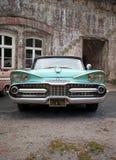 Aduana de Dodge del vintage 1959 real Foto de archivo