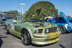 Aduana de Ford Mustang Foto de archivo libre de regalías