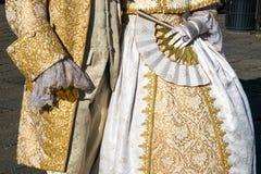 Aduana del carnaval en Venecia (Venezia) Véneto Italia Europa Imagenes de archivo