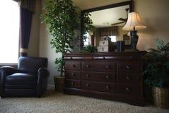 Aduana del diseño interior del dormitorio Foto de archivo