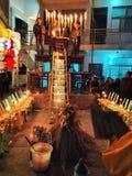 Aduana del entierro del budismo Foto de archivo libre de regalías