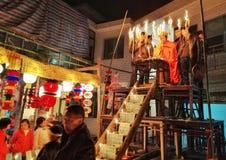 Aduana fúnebre 4 del budismo Fotos de archivo