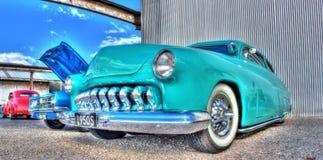 aduana Ford Mercury de los años 50 Fotografía de archivo libre de regalías