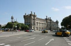 Aduana Gebäude in Barcelona Stockfotografie
