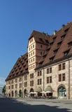 Aduanas anterior en Nuremberg, Alemania, 2015 Imagen de archivo libre de regalías
