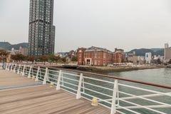 Aduanas anteriores de Moji que construyen en Mojiko Moji Port, Kitakyushu, Fotos de archivo