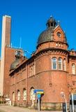 Aduanas anteriores y almacén en el puerto de Helsinki Fotos de archivo libres de regalías