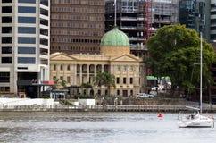 Aduanas - Brisbane Queensland Australia Fotografía de archivo libre de regalías