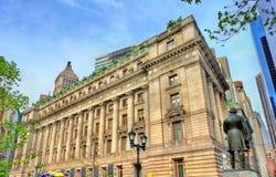 Aduanas de Alexander Hamilton en New York City en Manhattan más inferior S Aduanas, un edificio histórico en New York City Imagen de archivo libre de regalías