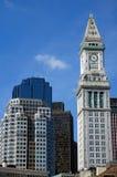 Aduanas de Boston Imagen de archivo libre de regalías