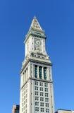 Aduanas de Boston en distrito financiero Imágenes de archivo libres de regalías