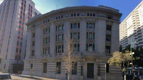Aduanas de Estados Unidos de la señal nacional, San Francisco, 1 Fotografía de archivo libre de regalías