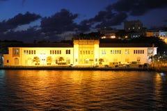 Aduanas de los E.E.U.U. en la ciudad vieja, San Juan Fotografía de archivo libre de regalías