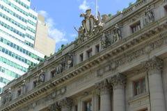 Aduanas de los E.E.U.U., Lower Manhattan, New York City Imagen de archivo