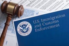 Aduanas de los E.E.U.U. y protección de la frontera Fotografía de archivo