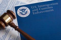 Aduanas de los E.E.U.U. y protección de la frontera Fotos de archivo libres de regalías