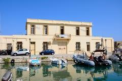 Aduanas de Rethymno, Creta Fotografía de archivo libre de regalías