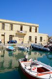 Aduanas de Rethymno, Creta Imágenes de archivo libres de regalías