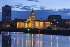 Aduanas - Dublín - Irlanda Imágenes de archivo libres de regalías