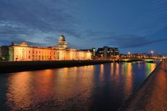 Aduanas Dublin Ireland Foto de archivo