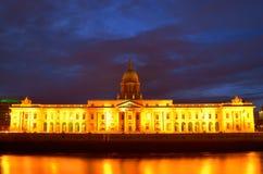 Aduanas en el río Liffey, Dublín Fotografía de archivo libre de regalías