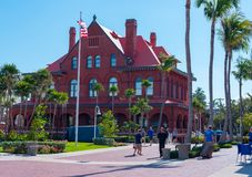 Aduanas en Key West Imagenes de archivo