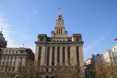 Aduanas en la Federación, Shangai, China Imagenes de archivo