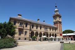 Aduanas - Newcastle Australia Fotos de archivo libres de regalías