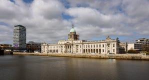 Aduanas que construye Dublín, Irlanda Fotografía de archivo