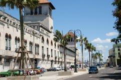 Aduanas que construyen - La Habana - Cuba Imágenes de archivo libres de regalías