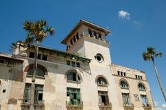 Aduanas que construyen - La Habana - Cuba Imagenes de archivo