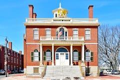 Aduanas Salem Maritime National Historic Site foto de archivo