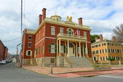Aduanas, Salem, Massachusetts Imagenes de archivo